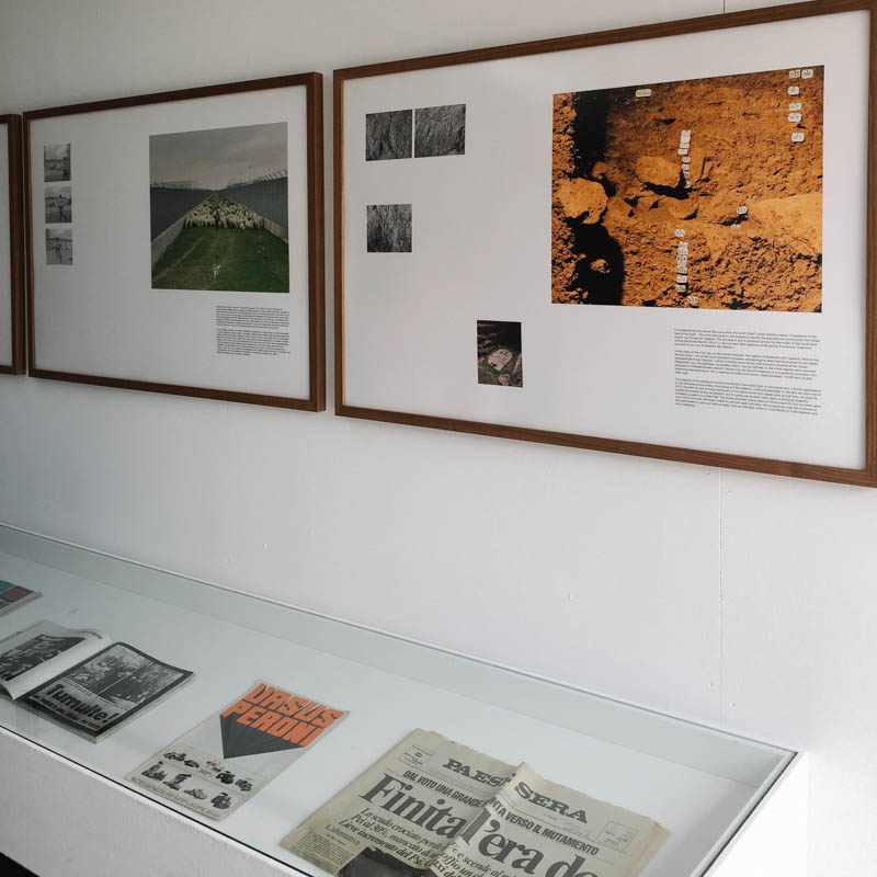 the photo exhibition archive-Triennale-in quarta persona